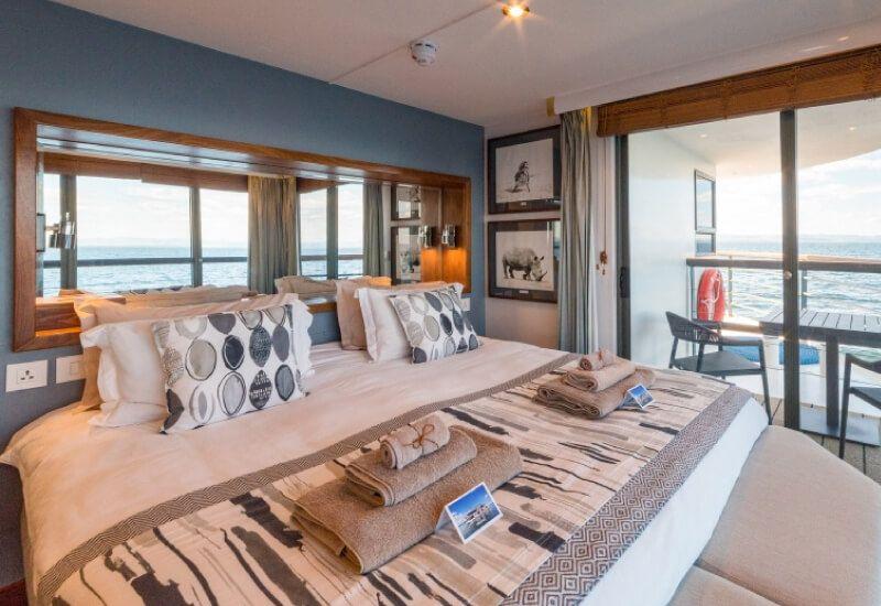 Suite Balcon du bateau de croisière RV African Dream
