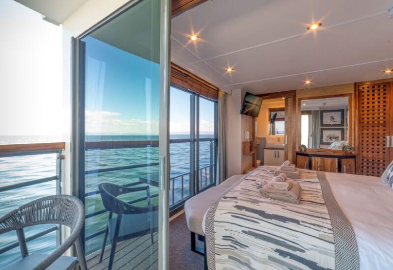 Suite Extérieure du bateau de croisière RV African Dream
