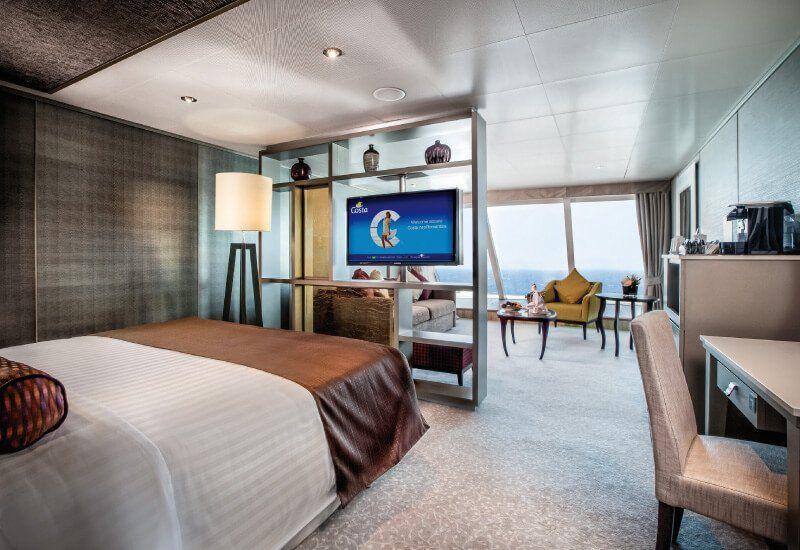 Suite du bateau de croisière Costa NeoRomantica