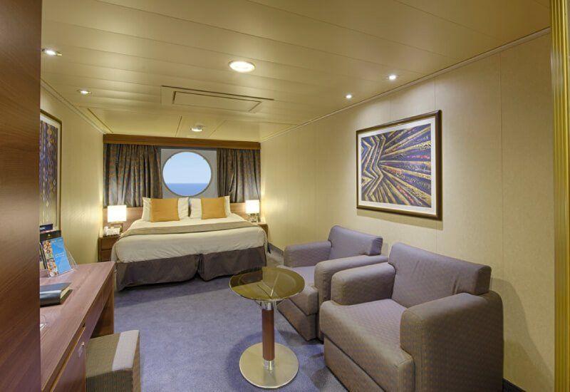 Cabine Extérieure du bateau de croisière MSC Divina