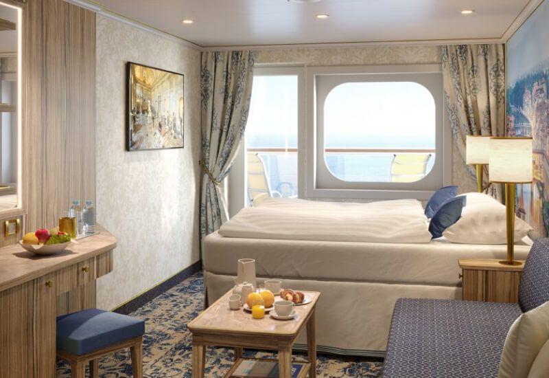 Cabine Balcon du bateau de croisière Costa Firenze
