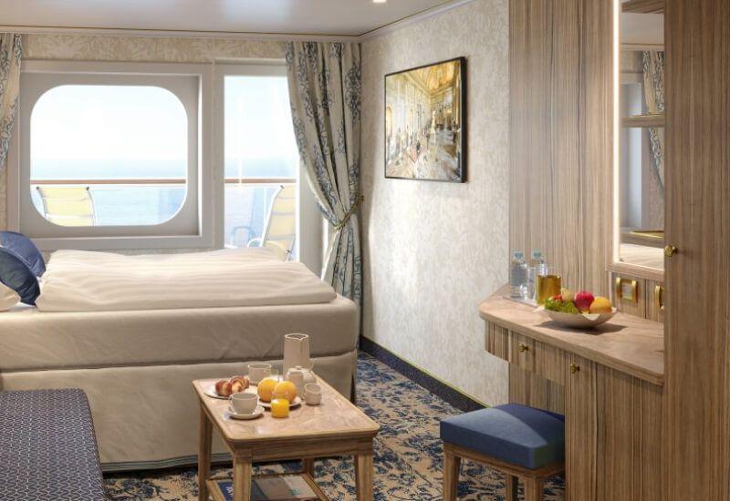 Cabine Extérieure du bateau de croisière Costa Firenze
