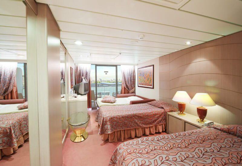 Suite  du bateau de croisière MSC Opera