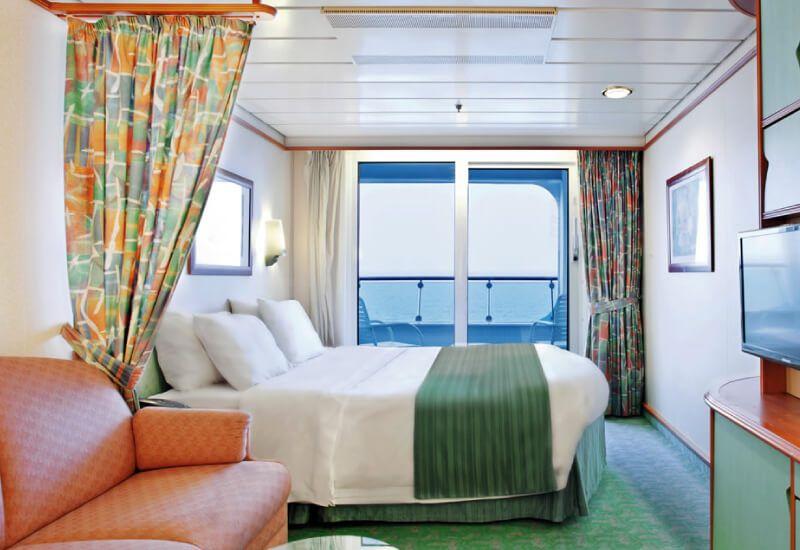 Cabine Balcon du bateau de croisière Adventure of the Seas