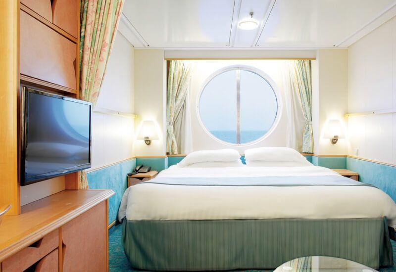 Cabine Extérieure du bateau de croisière Adventure of the Seas