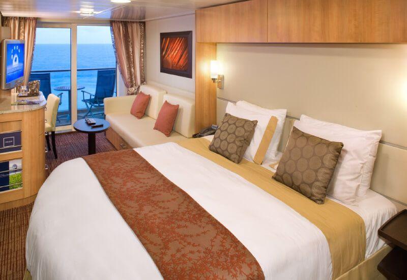 Cabine balcon du bateau de croisière Celebrity Solstice